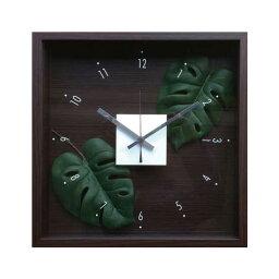 モンステラクロック F-Style Clock Monstera 【掛時計】クロック モンステラ