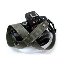 LIM'S 《限定特価》【送料無料】【あす楽対応】【即納】 LIM's Design LEMGLNS-KK イタリアンミネルバ 本革ネックストラップ カーキ [一眼レフカメラ用ショルダーストラップ ]