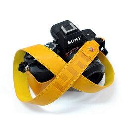 LIM'S 《限定特価》【送料無料】【あす楽対応】【即納】 LIM's Design LEMGLNS-YL イタリアンミネルバ 本革ネックストラップ イエロー [一眼レフカメラ用ショルダーストラップ ]