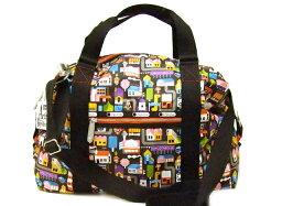 トートバッグ LeSportsac Artist In ResidenceMEDIUM LEISURE BAG 9779 R037レスポートサック アーティストインレジデンスミディアムレジャーバッグ(中)URBAN FRUITS(アーバンフルーツ)