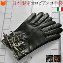 オロビアンコ 手袋 イタリア製 手袋 レディース 革 ブランド オロビアンコ Orobianco 本革 レザー 防寒 防風 暖かい きれいめ おしゃれ