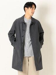 シップス [Rakuten Fashion]【SALE/40%OFF】SHIPSany:リラックスステンカラーコート SHIPS any シップス コート/ジャケット ステンカラーコート グレー カーキ【RBA_E】【送料無料】