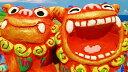 シーサーの置物 【シーサー】米子焼き★ゆがふ(M)2色★沖縄・ペアシーサー・カラフル・可愛い・人気・置物・祝い・土産魔除け・玄関・通販・かわいい・ペア・誕生日プレゼント・贈り物・インテリア・新築祝い・内祝い・結婚祝い・引き出物・販売・風水・ギフト・かっこいい…【売れ筋】