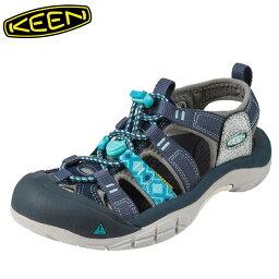 キーン [スーパーSALE中ポイント5倍]キーン KEEN サンダル 1016483 レディース靴 靴 シューズ 2E相当 スポーツサンダル アウトドア キャンプ レジャー ニューポート H2 大きいサイズ対応 25.0cm ブルー