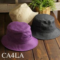 カシラ 帽子 レディース カシラ CA4LA ハット THE ONLY WAY OUT IS IN HAT (CAW00525 SS21) メンズ・レディース フリーサイズ デニム 帽子