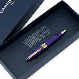 カンポマルツィオ ボールペン Campo Marzio Design/カンポマルツィオ/Minny LPボールペン バイオレット/GR K326LP