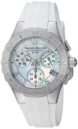 テクノマリーン テクノマリーン 腕時計 レディース TM-115083 【送料無料】Technomarine Women's Cruise Stainless Steel Quartz Watch with Silicone Strap, White, 22.7 (Model: TM-115083)テクノマリーン 腕時計 レディース TM-115083