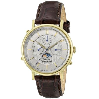 ヴィヴィアン ウエストウッド Vivienne Westwood ポートランド メンズ 腕時計 VV164CHBR グレー