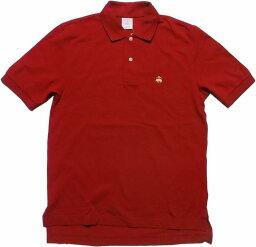 ブルックスブラザーズ ブルックスブラザーズ ワンポイント 半袖 鹿の子 ポロシャツ レッド Brooks Brothers POLO SHIRTS 009