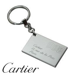 カルティエ キーホルダー(レディース) 【新品】 カルティエ キーリング [Cartier] レター デコール T1220753 【ラッピング無料】【送料無料】【RCP】