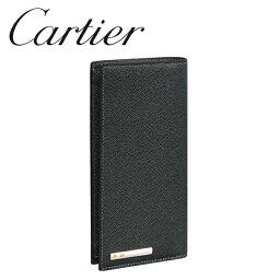 カルティエ 財布(レディース) カルティエ 長財布小銭入れなし ブラック(ONYX) サントス ドゥ カルティエ L3000770