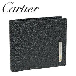 カルティエ カルティエ 折り財布小銭入れなし ブラック サントス ドゥ カルティエ L3000773