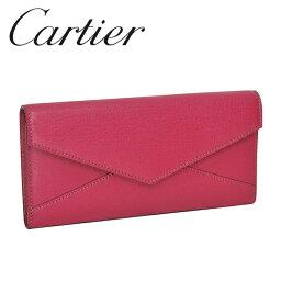 カルティエ 財布(レディース) Cartier 長財布 レディースピンク(FUCHSIA) コレクション レ マスト L3001352 Cartier