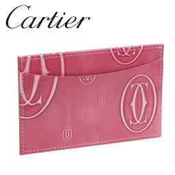 カルティエ 定期入れ 【新品】カルティエ パスケース カードケース [Cartier] Newピンク ハッピーバースデー L3001477 【ラッピング無料】【送料無料】【RCP】