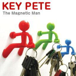 キーピート 【MONKEY BUSINESSモンキービジネス】キーピートKey Pete キーペティKey Pettite マグネット式鍵かけ 輸入雑貨腕時計とおもしろ雑貨のシンシア プレゼント 【あす楽対応可】
