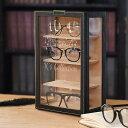 名入れ眼鏡ケース オシャレに飾る 眼鏡収納 メガネタワー 名入れで自分だけのメガネコレクションボックス【ラッキーシール対応】