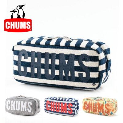 チャムス chums ポーチ Boat Logo Pouch Sweat ボートロゴポーチスウェット CH60-2419 【雑貨】ペンケース 小物入れ【メール便・代引不可】