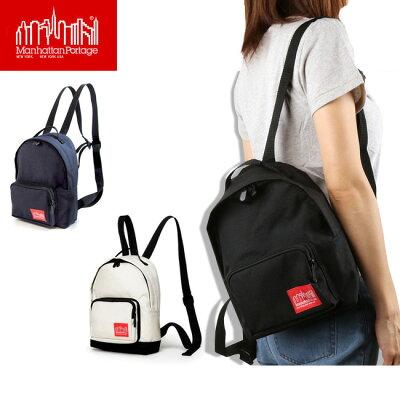 【日本正規品】 マンハッタンポーテージ ManhattanPortage ミニリュック Mini Big Apple Backpack XSサイズ MP7210 【カバン】リュック  通勤 通学 ファッション 人気 おしゃれ メンズ レディース