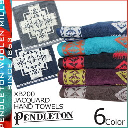 ペンドルトン ペンドルトン PENDLETON タオル ハンドタオル ハンカチ ジャガード XB200 6カラー JACQUARD HAND TOWELS メンズ レディース