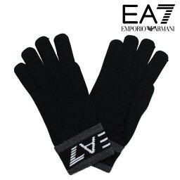 エンポリオアルマーニ 手袋 エンポリオ アルマーニ 手袋 メンズ 防寒 EMPORIO ARMANI EA7 イーエーセブン ブラック ビジネス カジュアル 2755617A393