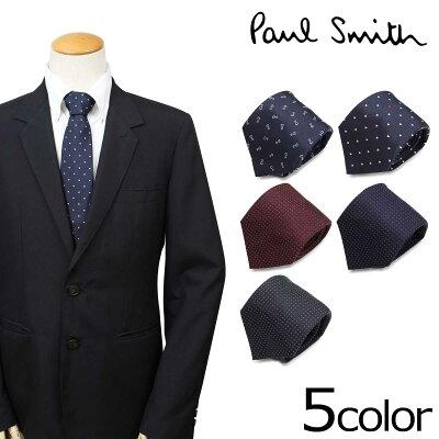 ポールスミス Paul Smith ネクタイ シルク メンズ イタリア製 ビジネス 結婚式 ギフト
