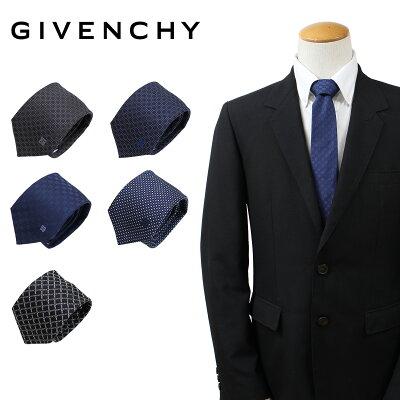 ジバンシー GIVENCHY ネクタイ メンズ シルク イタリア製 ジバンシイ ビジネス 結婚式 [5/21 追加入荷]