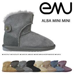 エミュー emu エミュー ムートンブーツ アルバ ミニ ALBA MINI MINI W10835 レディース