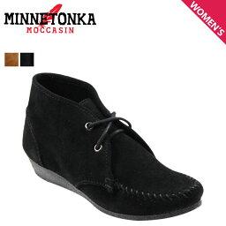 ミネトンカ ミネトンカ MINNETONKA チャッカ ウェッジ ブーティ ブーツ CHUKKA WEDGE BOOTIE レディース