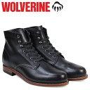 ウルヴァリン [最大2000円OFFクーポン] ウルヴァリン 1000マイル ブーツ WOLVERINE ブーツ メンズ 1000 MILE BOOT Dワイズ W05300 ブラック ワークブーツ [3/22 追加入荷]