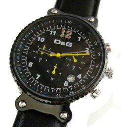 rhythm D&G TIME ドルチェ&ガッバーナRHYTHM メンズクロノグラフ腕時計 DW0306【ラッピング無料】【楽ギフ_包装】【10P11Mar16】【05P03Dec16】