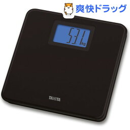 タニタ デジタルヘルスメーター タニタ デジタルヘルスメーター ブラック HD-662(BK)(1台)【タニタ(TANITA)】[体重計]【送料無料】