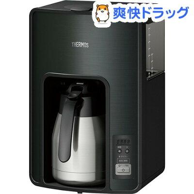 サーモス 真空断熱ポット コーヒーメーカー ECH-1001 BK ブラック(1台)【サーモス(THERMOS)】