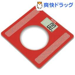 タニタ デジタルヘルスメーター タニタ デジタルヘルスメーター レッド HD-381-RD(1台)【タニタ(TANITA)】[体重計]【送料無料】