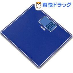 タニタ デジタルヘルスメーター タニタ デジタルヘルスメーター メタリックブルー HD-382-MB(1台)【タニタ(TANITA)】[体重計]【送料無料】
