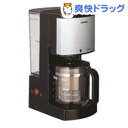 東芝 東芝 コーヒーメーカー HCD-6MJ K ブラック(1台)【送料無料】