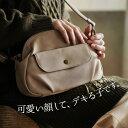 soulberry バッグ バッグ ころんと丸くてほんのりレトロな、毎日バッグ。フラップポケットミニショルダーバッグレディース/鞄/斜め掛け/ポシェット/合皮/フェイクレザーsoulberryオリジナル