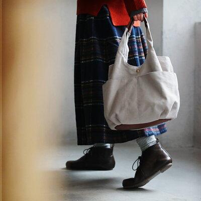 無理せず、ナチュラルでいたいんです。やさしい気持ちになるキャンバストートバッグバッグ レディース/鞄/手提げ/肩掛け/バルーン/多収納/シンプル/帆布/無地/通勤/通学/soulberryオリジナル