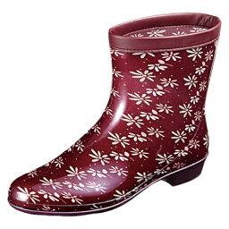 ムーンスター MoonStar(ムーンスター) レディース用雨長靴 ラベリア10 ワイン