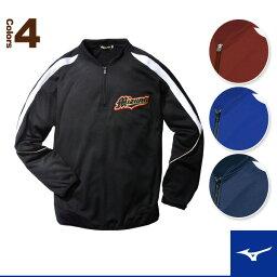 ウエア 【野球 ウェア(メンズ/ユニ) ミズノ】グローバルエリート BKジャケット・プロモデル(52LA109)
