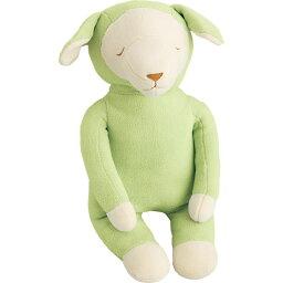 羊の抱き枕、メルくん 抱きまくら キャラクター 柔らかい肌ざわり 抱き枕 メルくん グリーン