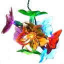 フラワーライト Flower Light Set 8球 フラワー ストリングライト セット バッテリーフラワーLEDライト 花 ランプ ガーデンライト アメリカ USA ガーランドライト