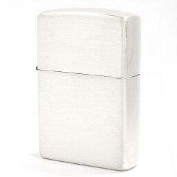 純銀製Zippo ジッポ #13 Zippo 銀無垢 艶消しレギュラータイプ シルバー