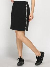 カルヴェン 【SALE/50%OFF】Calvin Klein Jeans 【CALVIN KLEIN JEANS 】 レディース トラック スカート カルバン・クライン スカート タイトスカート ブラック ホワイト【送料無料】
