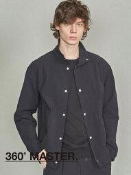 ユナイテッドアローズ BEAUTY & YOUTH UNITED ARROWS BY360MASTERレイズドネックジャケット【セットアップ対応】 ビューティ&ユース ユナイテッドアローズ コート/ジャケット ブルゾン ブラック ネイビー【送料無料】