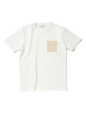 B:MING by BEAMS ビーミング by ビームス / コーデュロイ ポケット Tシャツ BEAMS ビームス ビーミング ライフストア バイ ビームス カットソー