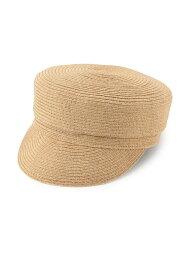 ロペピクニック 帽子 レディース ROPE' PICNIC PASSAGE ウォッシャブルブレードキャスケット ロペピクニック 帽子/ヘア小物 帽子その他 ベージュ ブラック