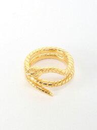 ヨシコ クリエーション YOSHiKO CREATiON *snake ring ヨシコ クリエーション アクセサリー リング ゴールド ブラック シルバー【送料無料】