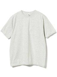 ビームス BEAMS MEN FRUIT OF THE LOOM / クルーネック Tシャツ ビームス メン カットソー Tシャツ グレー パープル ホワイト【送料無料】