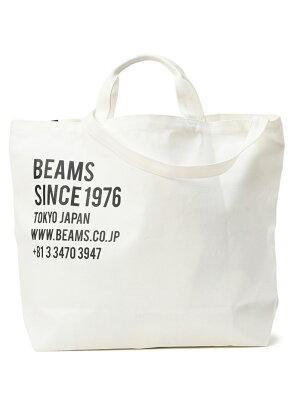 BEAMS MEN 【WEB限定】BEAMS / 2WAY キャンバス トートバッグ ビームス メン バッグ