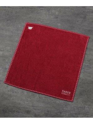 TAKEO KIKUCHI タオルハンカチ [ メンズ ハンカチ タオル 定番 ギフト プレゼント ワンポイント ハット ] タケオキクチ ファッショングッズ